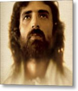 Jesus In Glory Metal Print by Ray Downing