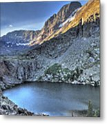 Kit Carson Peak And Willow Lake Metal Print by Aaron Spong