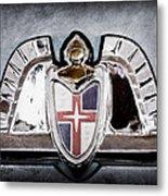Lincoln Emblem Metal Print by Jill Reger