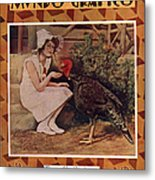Mundo Grafico 1928 1920s Spain Cc Metal Print by The Advertising Archives