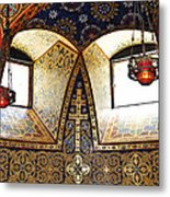 Orthodox Church Interior Metal Print by Elena Elisseeva
