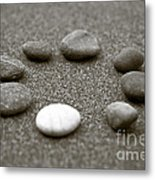 Pebbles Metal Print by Frank Tschakert