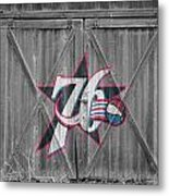 Philadelphia 76ers Metal Print by Joe Hamilton