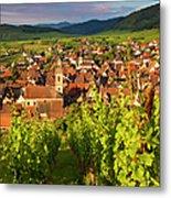 Riquewihr Alsace Metal Print by Brian Jannsen