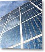 Skyscraper Metal Print by Michal Bednarek