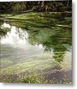 Spring Water Metal Print by Les Cunliffe