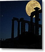Temple Of Poseidon  Metal Print by Emmanuel Panagiotakis