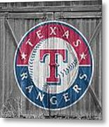 Texas Rangers Metal Print by Joe Hamilton