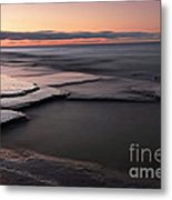 Tranquil Beach Metal Print by Charline Xia