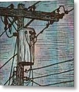 Transformer Metal Print by William Cauthern