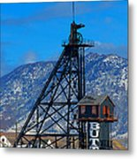 Travona Mine  Metal Print by Kevin Bone