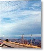 20 Degrees And Loving It At Cumberland Gap Metal Print by WEB Shooter