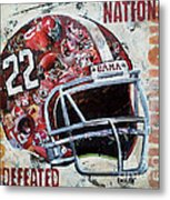 2009 Alabama National Champions Metal Print by Alaina Enslen