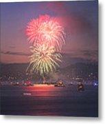 2014 4th Of July Firework Celebration.  Metal Print by Jason Choy