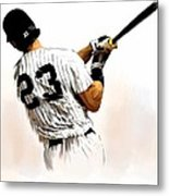 23   Don Mattingly  Metal Print by Iconic Images Art Gallery David Pucciarelli