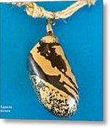 Aphrodite Mechanitis Necklace Metal Print by Augusta Stylianou