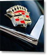 Cadillac Emblem Metal Print by Jill Reger