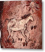 Cave Art Metal Print by Shelley Bain