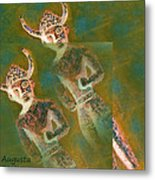 Cyprus Gods Of Trade. Metal Print by Augusta Stylianou