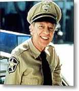 Don Knotts In The Andy Griffith Show  Metal Print by Silver Screen
