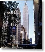 Empire State Building Metal Print by Jon Neidert