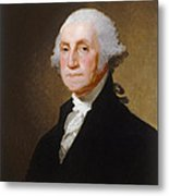 George Washington Metal Print by Gilbert Stuart