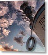 Greek Fishing Boat Metal Print by Stelios Kleanthous