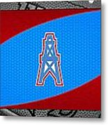 Houston Oilers Metal Print by Joe Hamilton