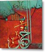 Islamic Calligraphy Metal Print by Corporate Art Task Force