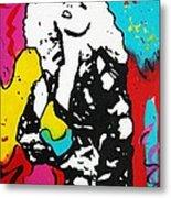 Lady Gaga Metal Print by Venus