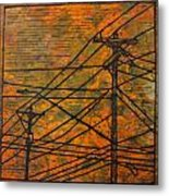 Lines Metal Print by William Cauthern