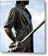 Minute Man Statue Concord Massachusetts Metal Print by Staci Bigelow