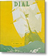 Morse Dry Dock Dial Metal Print by Edward Hopper