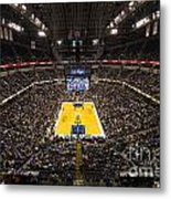 Pacers Indiana Metal Print by David Haskett