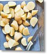 Potatoes Metal Print by Tom Gowanlock