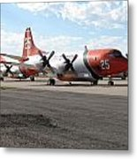3 Slurry Bombers Metal Print by Steven Parker