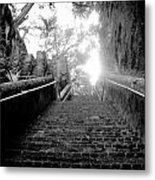 The Queen's Staircase Metal Print by Damion Lawrence