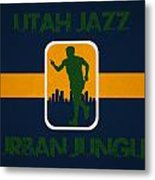 Utah Jazz Metal Print by Joe Hamilton