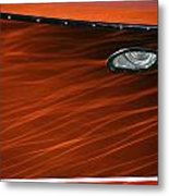 Riva Aquarama Metal Print by Steven Lapkin