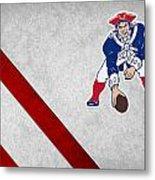 New England Patriots Metal Print by Joe Hamilton