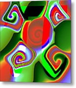 3Pi Metal Print by Ron Hedges