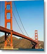 Golden Gate Bridge Metal Print by Darren Patterson