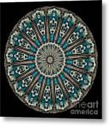 Kaleidoscope Steampunk Series Metal Print by Amy Cicconi