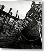 Old Abandoned Ships Metal Print by RicardMN Photography