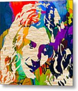 Robert Plant Metal Print by Marvin Blaine