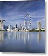 Singapore City Metal Print by Anek Suwannaphoom