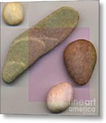 4 Stones Metal Print by David Klaboe