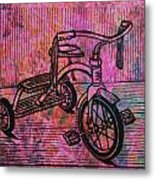 Tricycle Metal Print by William Cauthern
