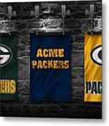 Green Bay Packers Metal Print by Joe Hamilton