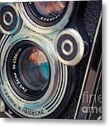Old Vintage Camera Metal Print by Sabino Parente